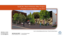 Sault Ste. Marie Moloney Alley Project