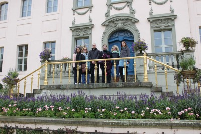 U.S. McCloy Fellows and hosts at Puckler's Castle in Cottbus