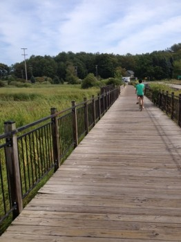 A great place project: Betsie Valley Trail in Frankfort, MI