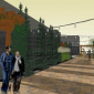 Midtown Detroit Inc's rendering of the Green Alley Project.