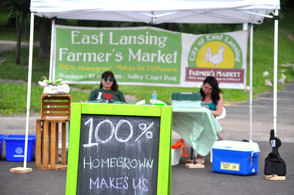 web PART 2 farmers market signage by community East Lansing