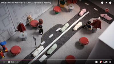 As envisioned in this Swedish video, CAVs and placemaking can be very compatible, if we prioritize space for people over space for vehicles.